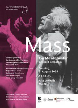 """Phoenix-Combo bei """"Bernstein Mass"""" – Kooperation mit LandesJugendChor (LJC) und LandesJugendBlasorchester (LJB)"""