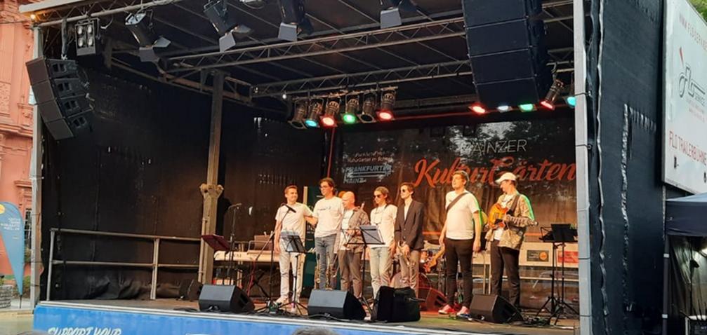 """Live-Relaunch: Phoenix Combo bei Mainzer """"KulturGärten"""""""