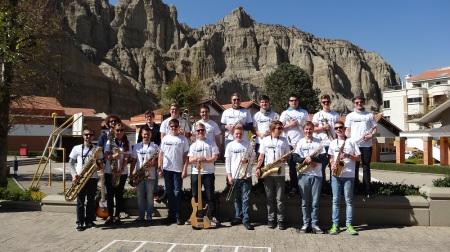 Gruppenfoto Phoenix Deutsche Schule La Paz
