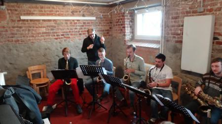 Saxofone mit Sven Hack