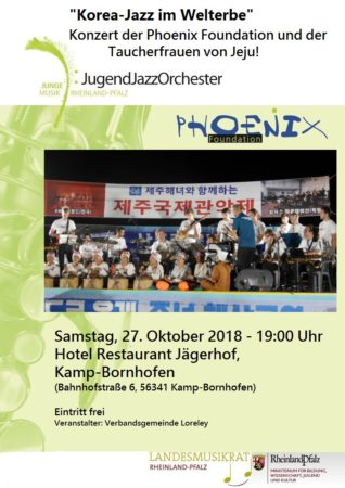 Phoenix und die Taucherfrauen von Deopyeong – Korea-Jazz im Welterbe