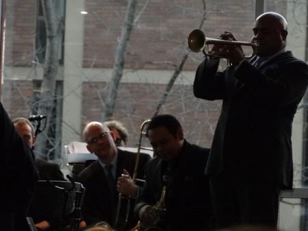 Terell Stafford mit dem Temple-Uni-Jazz-Orchestra