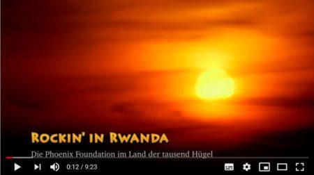 Video-Veröffentlichung: Rockin' in Rwanda – Die Phoenix Foundation im Land der tausend Hügel